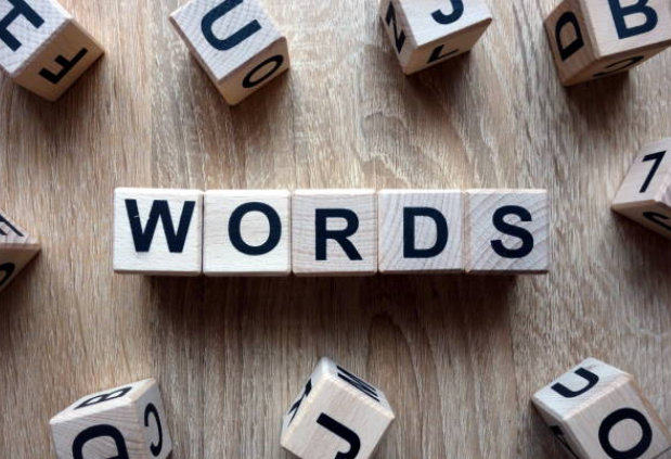 words, match the words